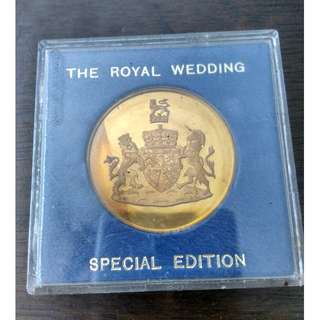 The Royal Wedding Medallion Special Edition