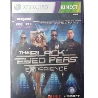 XBOX 360 The Black Eyed Peas Experience (Like New) For Sale
