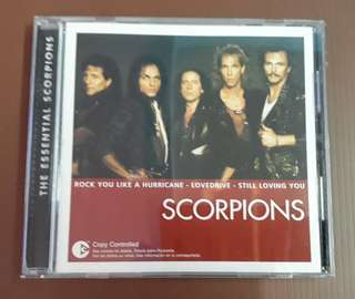 CD Scorpions - The Essential ( Compilation ) EU