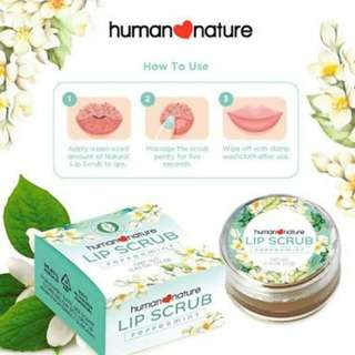 Human Nature Lip Scrub