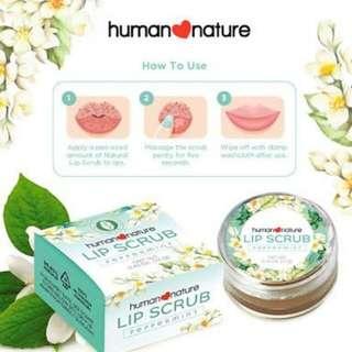 Human Nature Lip Scrub