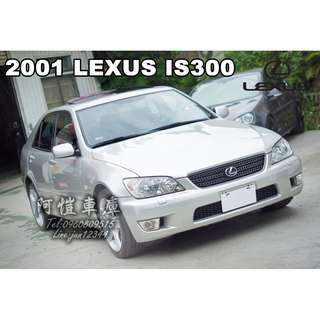 2001 LEXUS IS300