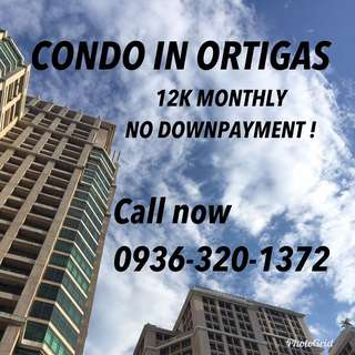 NO CASH OUT! 12K monthly Ortigas Pre selling Condo nr Ayala 30Th Ayala Malls taguig pasay bgc Antipolo Makati