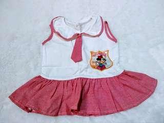 Z3 Dress Anak Bayi Sailor Seragam Cute Girls Atasan Branded Original