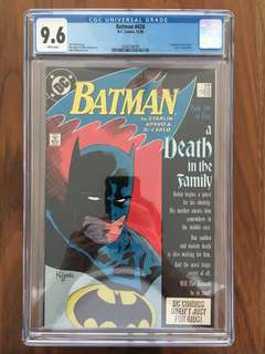Batman #426 & #427 (Both CGC 9.6) Death in the Family