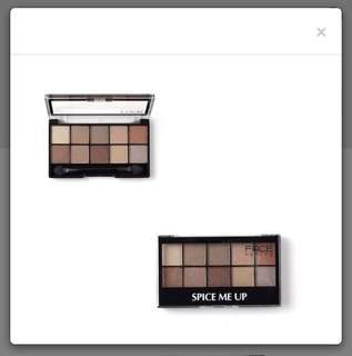 Face recipe Spice me up eyeshadow palette