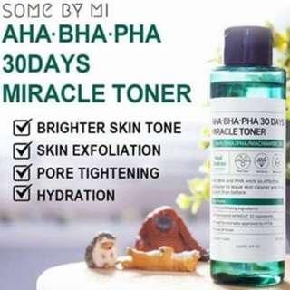 Some by Mi AHA, BHA PHA 30 Days Miracle Toner