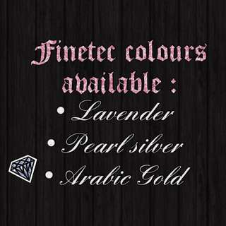 Finetec Colours Available