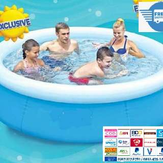 "Brand New Portable Inflatable Swimming Pool Round Circle Size:6'6""x20"""