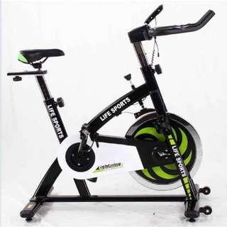 Sepeda statis spinning bike sport life fitness murah Spt Life Fitness