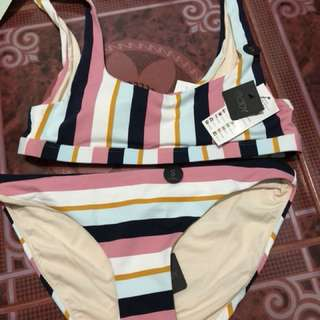 Cotton on two piece swimsuit