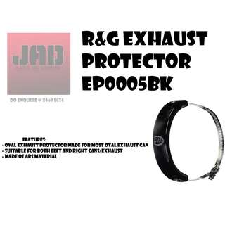 R&G Exhaust Protector EP0005BK