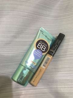 BUNDLING MAYBELLINE FOUNDATION + CONCEALER