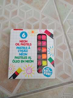 Alex Toys Artist Studio 6 Neon Oil Pastels