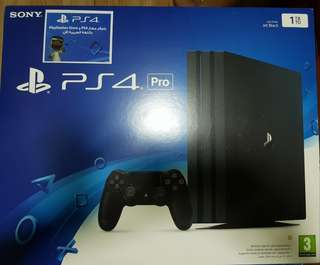 Ps4 pro 1tb brand new