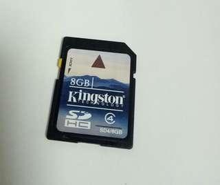 Kingston 8GB SDHC