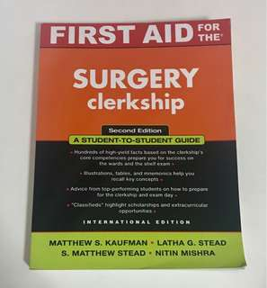 First Aid for the Surgical Clerkship