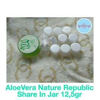 Aloevera Nature Republic Original Korea - Share in Jar 12,5gr
