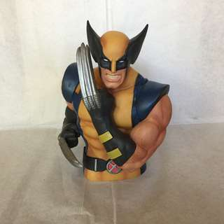 Marvel Comics Wolverine Bust Bank