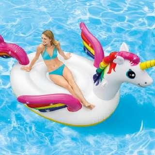 Brand New Free Shipping Unicorn Pegasus Inflatable Portable Water Fun