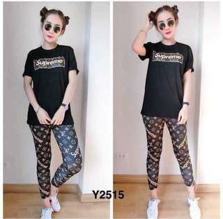 T-shirt and Leggings Set