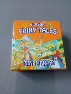 Jual 6IN1 BOARD BOOK SET CLASSIC FAIRY TALES MINI LIBRARY bed time Story import children bbw buku impor