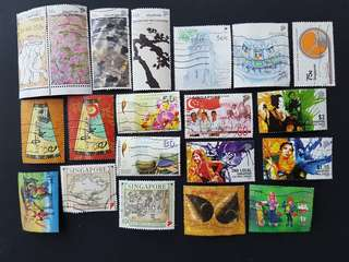 137 different Stamps