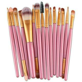 Brush Makeup 15 pcs