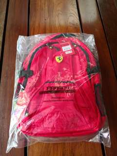 FLASH SALE! P1000 less til May 18 Ferrari Laptop Sports Backpack