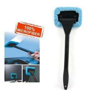 Car Glass Wash Brush Window Cleaner Long Handle Dust Care Tool Windshield Shine