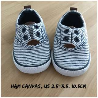 H&M Canvas Baby Shoes