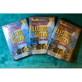 "Fender Presents ""Getting Started On Electric Guitar by Keith Wyatt"" DVD"