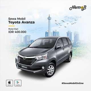 Sewa mobil New Avanza 2018 di Jakarta, murah dan berkualitas. Hanya 400 ribu dengan driver.