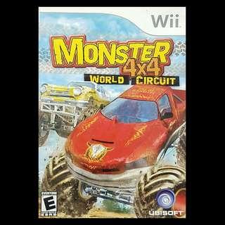 Monster 4 x 4 World Circuit Nintendo Wii