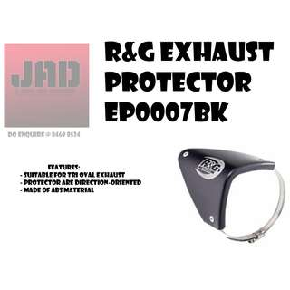 R&G Exhaust Protector EP0007BK