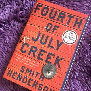 Fourth of July Creek (novel)