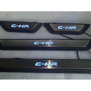 Toyota CHR Scuff Plate with Lighting.