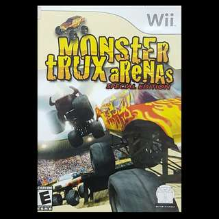 Monster tRUX aReNAs Special Edition Nintendo Wii