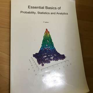 Essential Basics of Probability, Statistics and Analytics