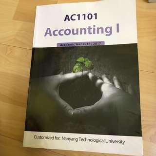 ACC1101 Accounting I Textbook