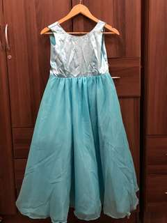 Sea Blue Gown
