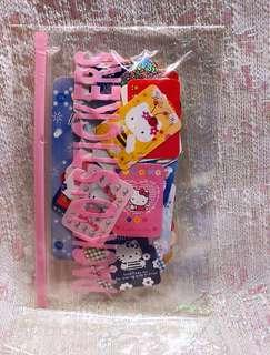 Sanrio 2003 絕版罕有 Hello Kitty 貼紙套裝 200個貼紙