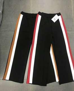 Stripes Loose Pants