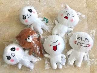 BNWT Line Stuff Toy