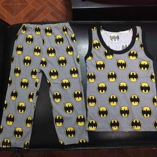 Pajama set batman cotton for 3-4Tbrandnew