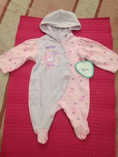 Pre-loved Overall Long Sleeve Body Suit (newborn)