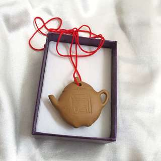 Teapot Pendant