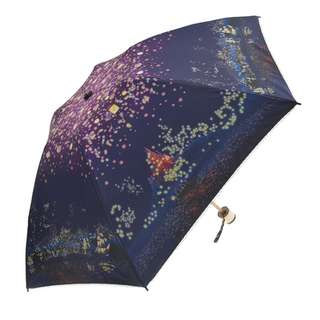Japan Disneystore Disney Store Rapunzel Tangled Fantasy Night Folding Umbrella