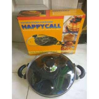 Cetakan kue 8 dan 12 Lubang Happy Call  harga promo spesial ramadhan