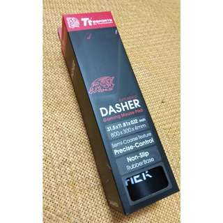 【全新】 Tt eSPORTS DASHER 競速者 電競 滑鼠墊 超大型 曜越